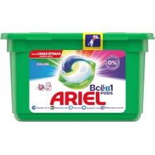 Капсулы Ariel PODS Color & Style 12 шт Автомат (8001090762634)