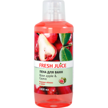 Піна для ванн Fresh Juice Rose apple & Guava 1000 мл (4823015936333)