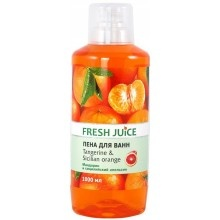 Піна для ванн Fresh Juice Tangerine & Sicilian Orange 1000 мл (4823015936326)