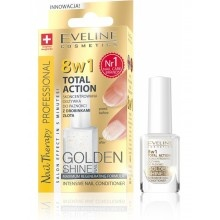 Eveline Nail Therapy Profession 8в1 Golden Shine комплексна регенерація 12ml  (5901761939323)