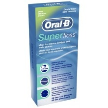 Зубна нитка Oral-B Super Floss  50 м