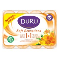 Мыло Duru Soft Sensations 1+1 Календула 4+1 шт х90 г (8690506481650)