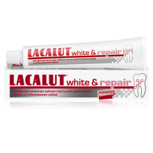 Зубная паста Lacalut white and repair 75 мл (4016369546154)