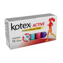 Тампоны Kotex Active Normal 16 шт (5029053564494)
