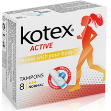 Тампони Kotex Active Normal 8 шт