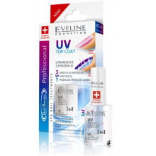 Eveline Nail Therapy Profession  3в1 покриття з ефектом UV 12ml