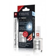 Eveline Nail Therapy Profession   X-Treme Gel Effect закріплююче лакове покриття 12ml