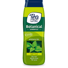 Шампунь Teo Nature Botanical Nettle & Argan Oil 400мл (3800024011740)