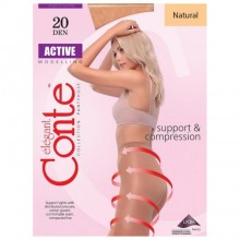 Колготки Conte Active 20 Den 2s  Natural (4810226006382)