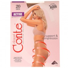 Колготки Conte Active 20 Den 4L  Natural