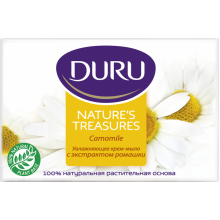 Мыло Duru Nature's Treasures ромашка 4x75 г (8690506488949)