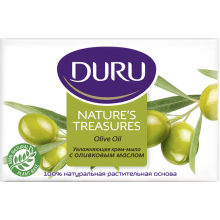 Мыло Duru Nature's Treasures  оливка 4x75 г (8690506488956)