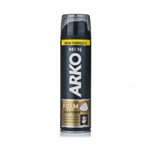 Пена для бритья Arko Gold power 200 мл (8690506467234)