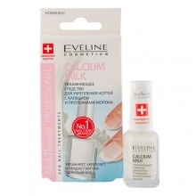 Eveline Nail Therapy Profession Calcium Milk для нігтів 12ml (5901761938340)